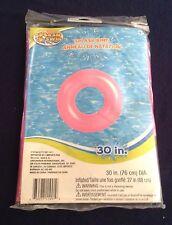 Splash-N-Swim Inflatable Swim Rings, 30 inch Dia. * PINK SWIM RING*