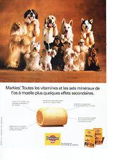 Publicité Advertising 018  1994   Pedigree Pal   les Markies aliment chien