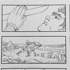 Dragonball Evolution Hand-Drawn Movie Storyboard page 2009 Dan Fraga w Coa 4