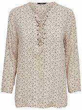 48/10 NEU ONLY Damen Hemd Bluse Tunika onlZAFRAN L/S TOP SWEET WVN  Gr.38