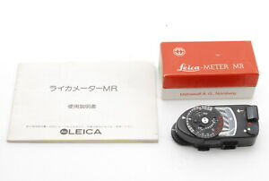 [MINT IN BOX] Leica Meter MR-4 MR4 BLACK For M2 M3 M4 M4-P M4-2 From JAPAN