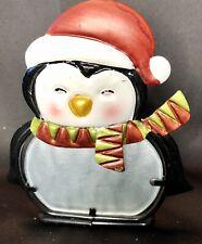 Christmas Pengiun Candle Holder