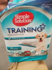 Simple Solution Training Premium Dog Pads used up to four pads missing maybe mor