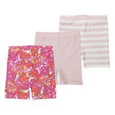 BURTS BEES Toddler Girl Pink Shorts Set Of * 3 * Size 2T NWT