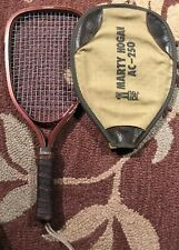 Vintage 1980's Leach Marty Hogan Ac250 Racquetball Racquet With Cover
