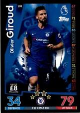 Match Attax 18/19 Olivier Giroud Chelsea Base card No. 108