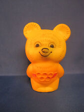 Moscow Olympic Games 1980. Olympic Bear Misha. Rubber Figurine
