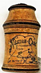 Antique Wooden Needle Case