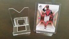 *2 Piece Adjustable Pack of 20 Baseball Trading Card Holder Clear Display Stands