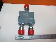 Narda Potencia Divisor 2-8 GHZ 3324-2 Emi Test RF Microondas como en la Imagen