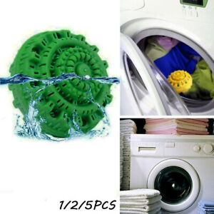 1/2/5PCS  Magic Laundry Ball No Detergent Wash Wizard Style Washing Machine