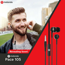 Original & New Motorola Pace 105 In-Ear Hi-Fi Headphone Earphone