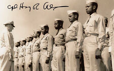 Tuskegee Airman WWII Captain Alexander B-25 Bomber Pilot SIGNED 4x6 PHOTO