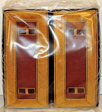 US Army Warrant Officer 1 WO 1 Male Bullion Shoulder Straps Boards with Box