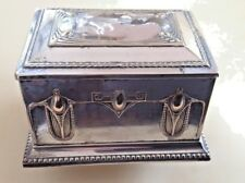 ANTIQUE 1886-1903  YEAR WÜRTTEMBERGISCHE WMF ART NOUVEAU SILVERPLATE GUILDED BOX
