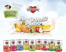 Umido monoproteico con frutta fresca per cani adulti Fresh Fruit Plus Disugual 1