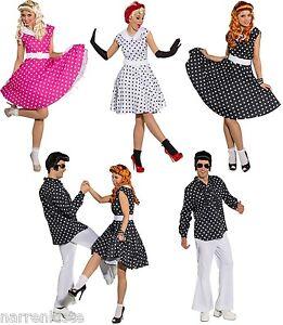 50er 70er Jahre Rock`n Roll Abend Kleid Kostüm Hippie Petticoat Rockabilly Polka
