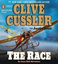 Clive Cussler THE RACE, An Isaac Bell Novel (2011, CD, Unabridged)