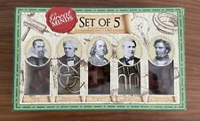 Great Minds Set Of 5 Classic Retro Puzzles Great Gift Stocking Filler Christmas