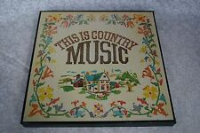 This Is Country Music #1 Country 60 Top-Of-The-Chart Hits Set 6 Records Columbia