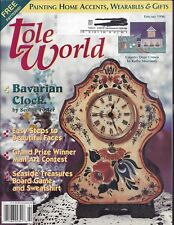 TOLE WORLD ~ FEBRUARY 1996