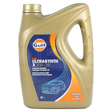 Gulf Ultrasynth X 0w-20 Advanced Synthetic Engine Oil - 4 Litres
