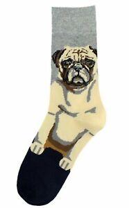 Women Men Boy Girl High Quality Cotton Loyal Dog Funny Crew Socks