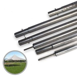 Factory Second Canopy Pole Galvanized Steel Weekender Tent Side & Center Poles