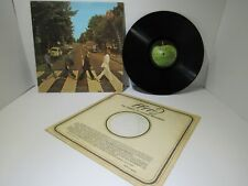 The Beatles: Abbey Road US Press Apple Records LP SO 383 Grade: G+