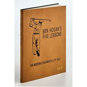 Ben Hogan's Five Lessons: The Modern Fundamentals of Golf - Leather-Bound Book