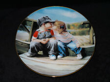 """Donald Zolan's 1992 """" First Kiss """" Collector Plate"""