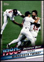 Minnesota Twins 2020 Topps Decade's Best Series 2 5x7 #DB-59 /49
