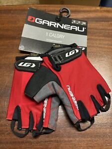 ! Garneau 1Calory Small Red Cycling Gloves