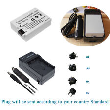 Battery +Charger  For Canon LP-E8 LPE8 EOS Kiss X4 550D 600D 650D 700D T4i