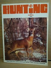 Vintage Hunting Annual Nra Magazine 1974 Denali Directory Guides, Outfitters