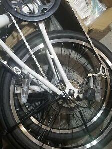 Dahon Dream D6 Folding Bike - White