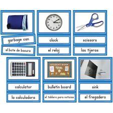 Spanish English Classroom Labels Instructional Accents Edupress EP-3189