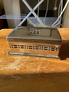 Metal CIGAR CIGARETTE BOX