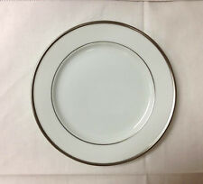"FURSTENBERG ""WAGENFELD EDITION PLATINUM"" BREAD PLATE 7"" PORCELAIN GERMANY"