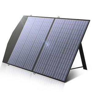 ALLPOWER 100/120W Foldable Solar Panel Portable Solar Charger for Portable Power