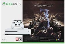 Microsoft Xbox One S 1TB la tierra media sombras de Guerra