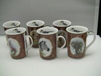 Lynn Chase China African Portraits Various Mugs EXCELLENT - TEN For Sale