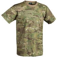 Helikon Tactical Mens T-Shirt Army Cadet Top Military Combat Tee Camogrom Camo