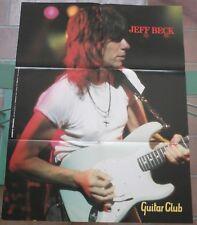 manifesto JEFF BECK  poster  Guitar Club 1994