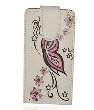 Design 1 Handy Flip Style Tasche Cover Case Hülle Etui für LG P700 Optimus L7