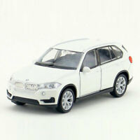 BMW X5 SUV 1/36 Scale Model Car Diecast Toy Vehicle Pull Back Kids Gift White