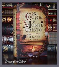 Count of Monte Cristo by Alexandre Dumas Brand New Hardcover Collectible Ed