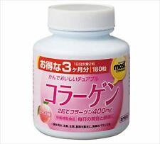 new ORIHIRO MOST chewable collagen 180tablets for 3months peach flavor JAPAN F/S