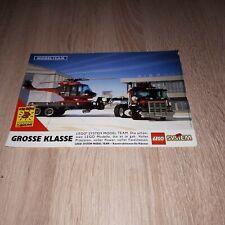 Lego 5590 Modelteam Werbung  Werbeanzeige print ad deutschland 1993