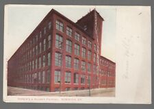 [52059] OLD POSTCARD HOPKIN'S & ALLEN'S FACTORY IN NORWICH, CONNECTICUT
